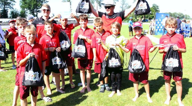 E-Junioren mit Begeisterung beim Kaufland-Cup
